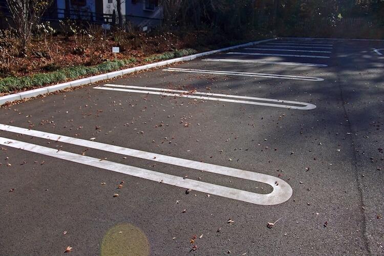 飲食店の駐車場