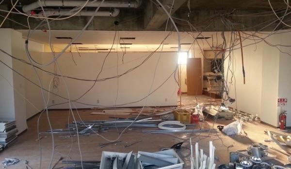飲食店の店舗物件と内装工事