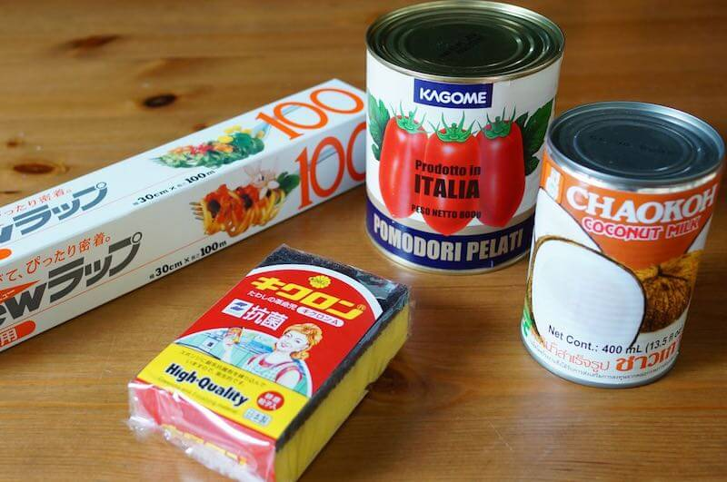 八面六臂の資材、缶詰